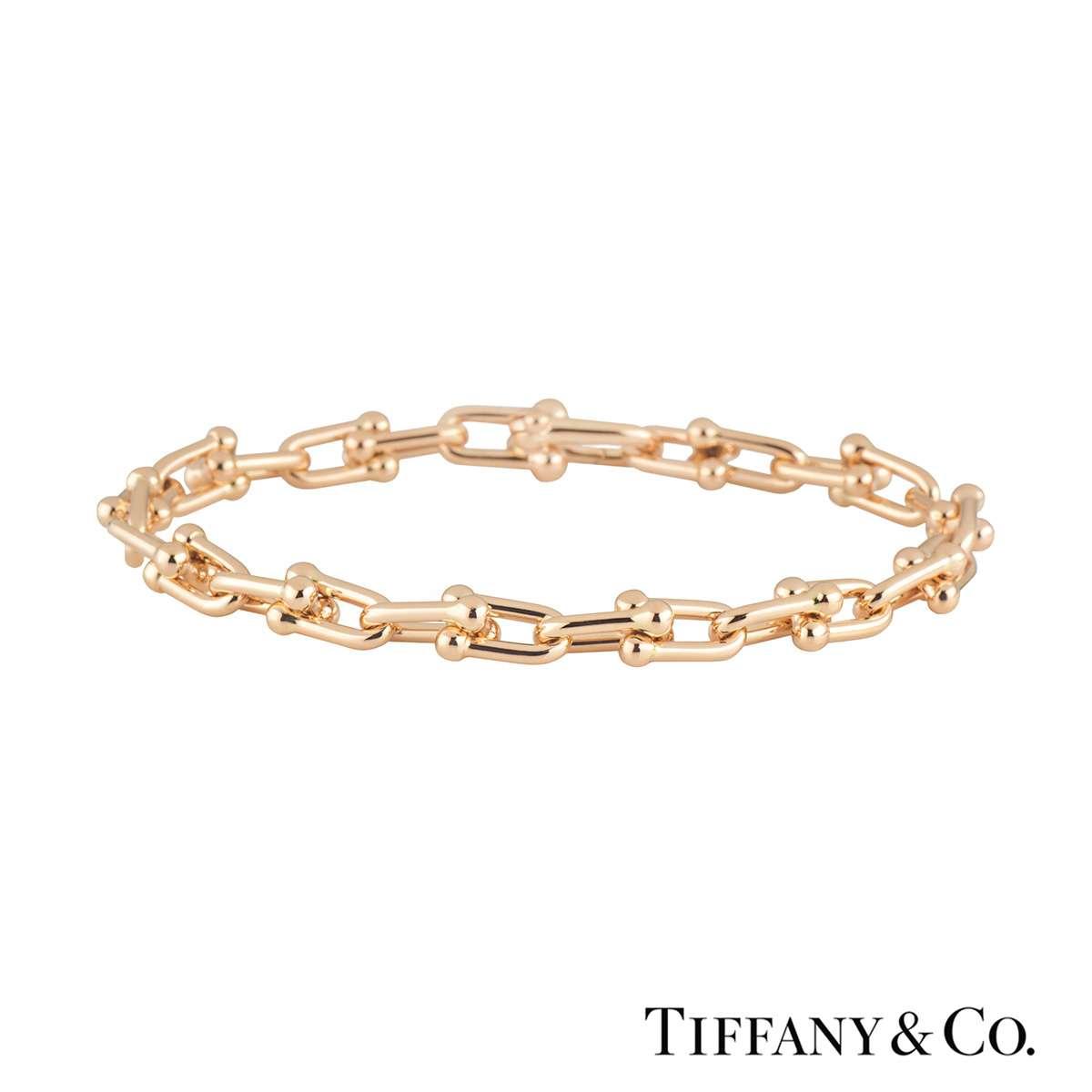 Tiffany & Co. Rose Gold City Hardwear Bracelet